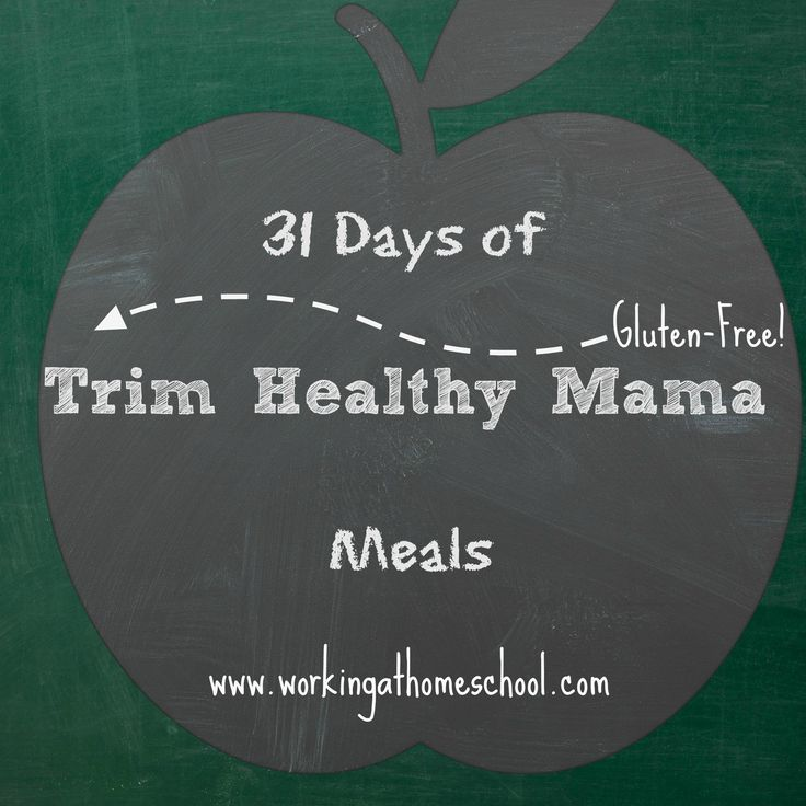 NEW Printable Shopping Lists for 31 Days of Trim Healthy Mama Meals! | Working at Homeschool
