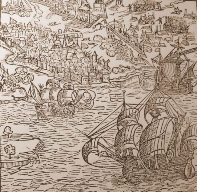 The siege of Copenhagen 1535-36