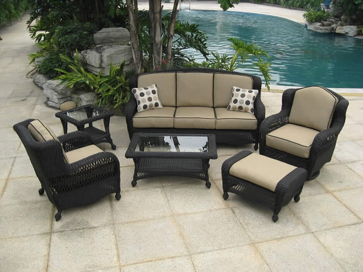 Patio furniture by Curacao