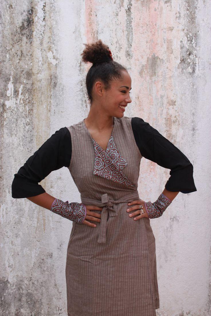 Chandigarh dress, wool.