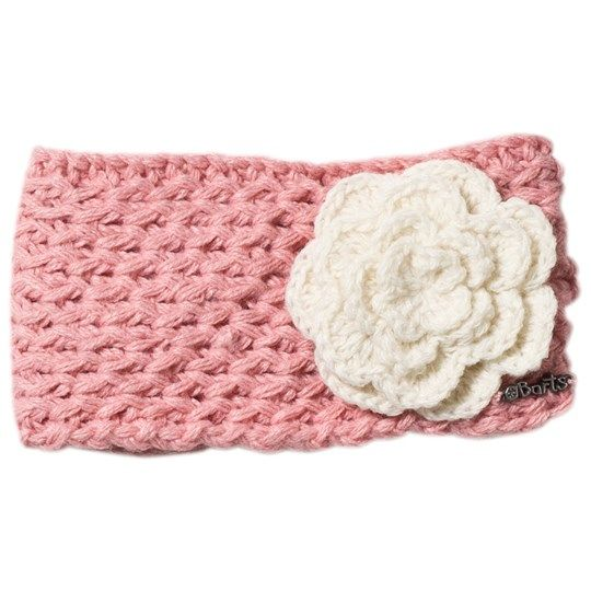 Barts Pink Knitted Rose Headband 08 BLUSH