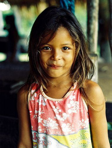 Amazon Rainforest   cabocla - Caboclos were the first Brazilian mestizos. The king of Portugal, D. Joseph I, encouraged marriages between whites and Indians in the 18th century. There was a wave of caboclos created during the time of rubber soldiers, when young, primarily white and mestiço Brazilian men were taken from Northeastern Brazil and brought into the Amazonian interior to harvest rubber. The men were never granted permission to leave, and thus married locally.