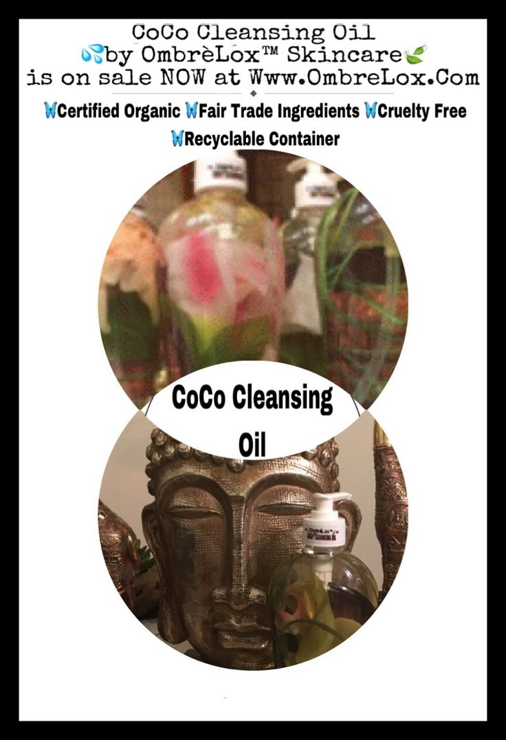 CoCo CLEANSING OIL By OmbrèLox™ Skincare