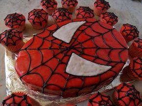 La Cocina del Goblin Glotón: Tarta de Spiderman