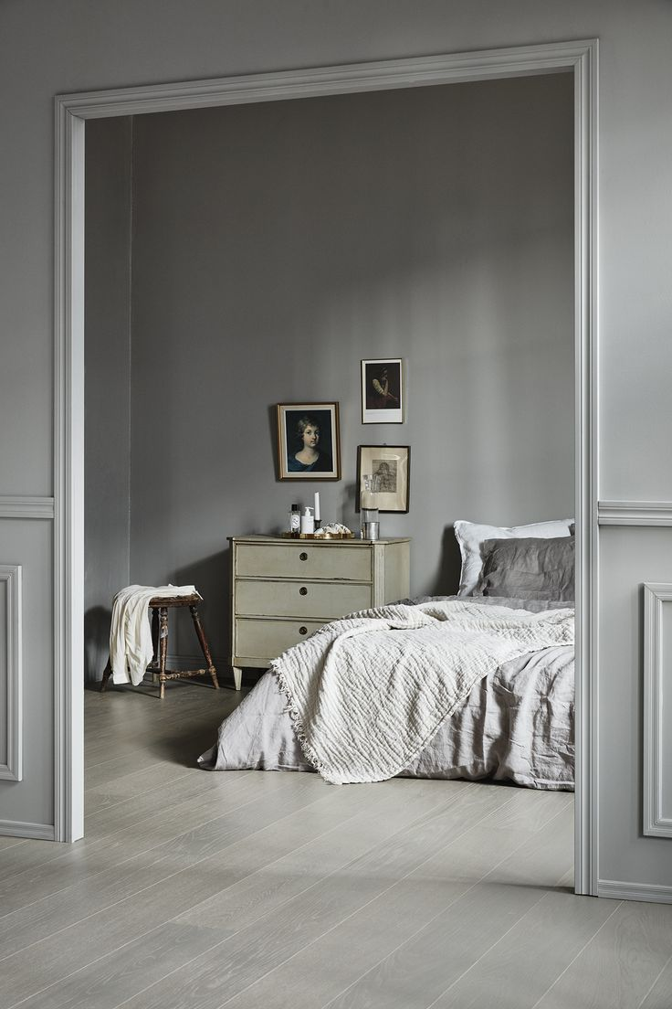 Black and white and grey bedrooms - Styling Susanna Vento Photos Mikko Ryh Nen For Timberwise Quality Wooden Floors From Finland