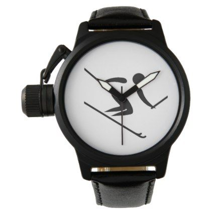 Team Alpine Skiing Watch - winter gifts style special unique gift ideas