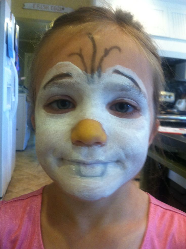 17 best images about face painting ideas on pinterest for Frozen face paint