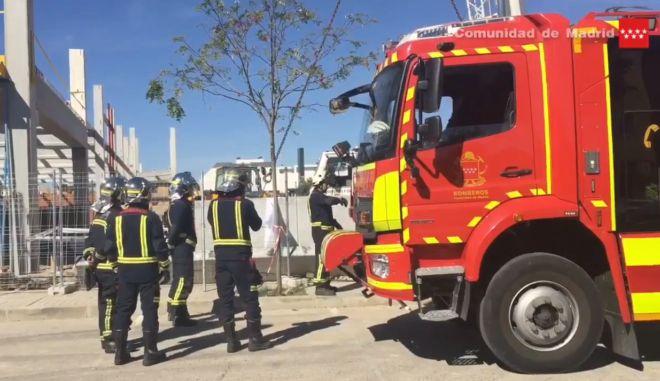 Fallece un obrero tras caerle una plancha de hormigón de 5.500 kilos