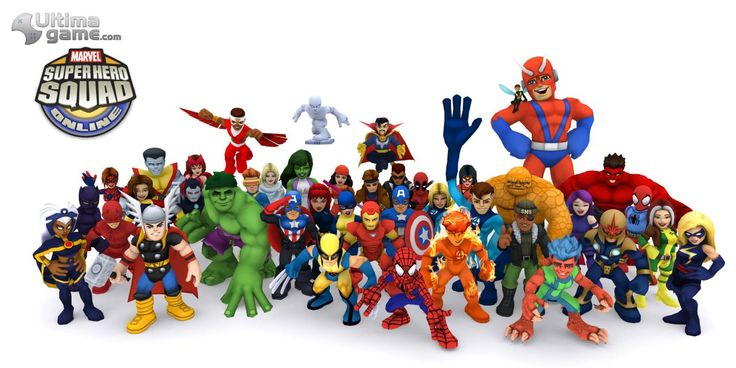Marvel Super Hero Squad Online | Imágenes de Marvel Super Hero Squad Online: Disfruta de sus super ...