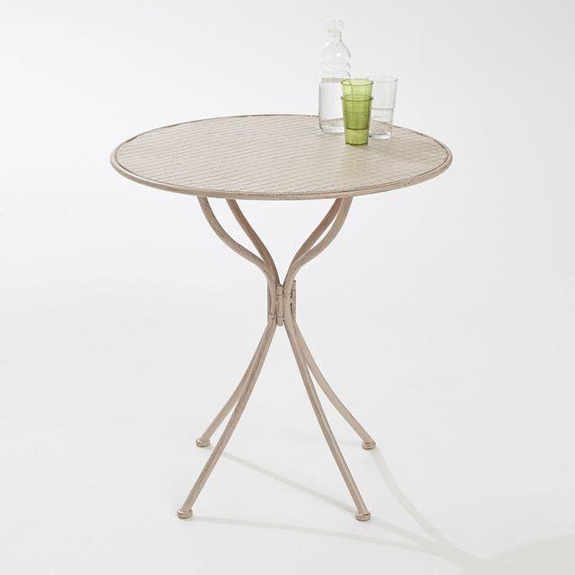 17 best ideas about table ronde jardin on pinterest table de jardin ronde mosa que and jardin - Table de jardin metal montpellier ...
