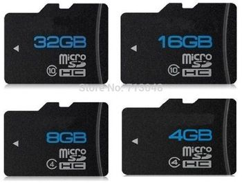 Real capacity 64GB Micro SD card SDHC Transflash TF Memory card 2GB 4GB 8GB 16GB 32GB flash with card reader