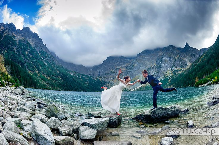 Jesienna sesja ślubna nad Morskim Okiem i na Kasprowym Wierchu