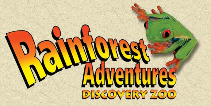 RainForest Adventures Discover Zoo -Sevierville Tennessee....Smokey Mountains, about 3hr drive, good prices.