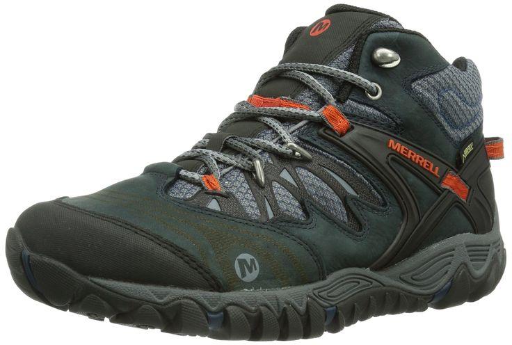 Merrell Allout Blaze Mid Gore Tex - Botas de senderismo de cuero para hombre: Amazon.es: Zapatos y complementos