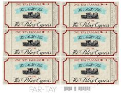 download your polar express train tickets free printable for your christmas party