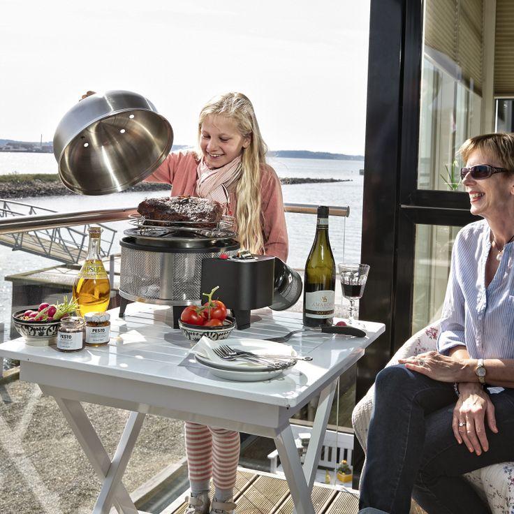 Cobb grill passer ind til jeres familie hygge #grill #grillinspiration #grilltips #inspirationdk