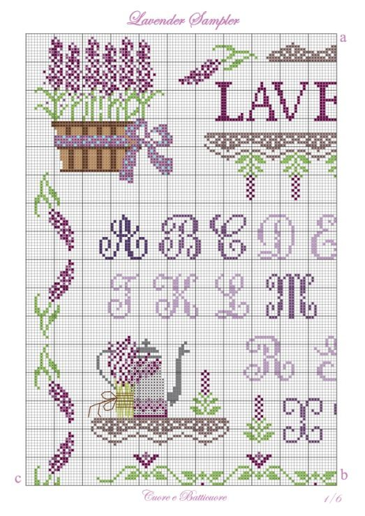 Gallery.ru / Фото #1 - Lavender Sampler - Marina-Melnik
