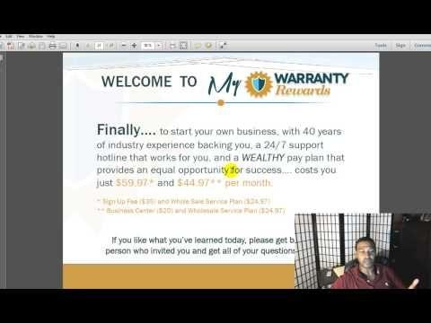 My Warranty Rewards Review Comp Plan - YouTube #MyWarrantyRewardsReview #MyWarrantyERewardsReview #PreLaunchOpportunity #JulianLee