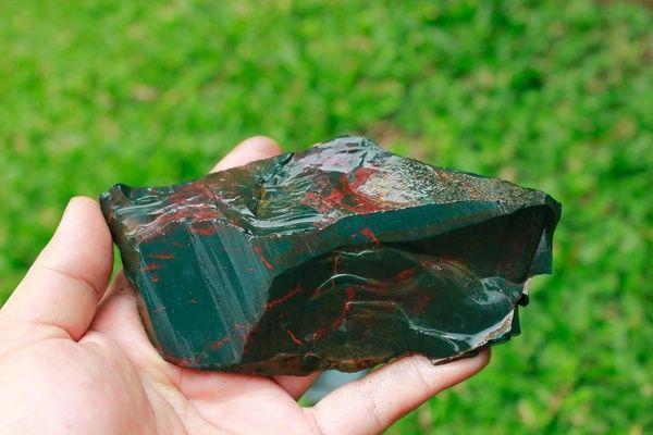 Jual NAGASUI BLOODSTONE (N-023) Baru   Batu Akik Purbalingga   Bukalapak