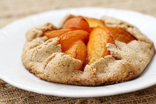 apricot almond galette