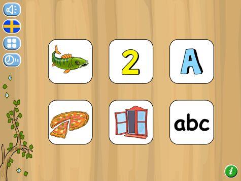 Träna att minnas bokstäver, siffror, bilder och ord. Denna app tränar arbetsminnet genom flashcards. På en tavla visas kort med olika innehåll. Korten vänds och man skall minnas var ett visst kort finns.