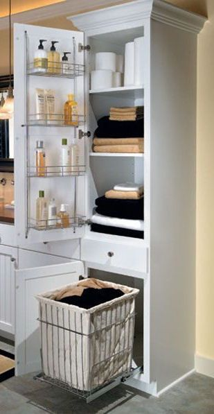 590 best most original organizers images on pinterest for Cabinet salle de bain