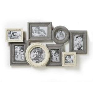 Shabby Chic Wooden Vintage Style Multi Photo Frame Wedding Gift Idea