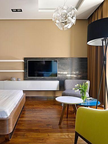 bedroom tv rack