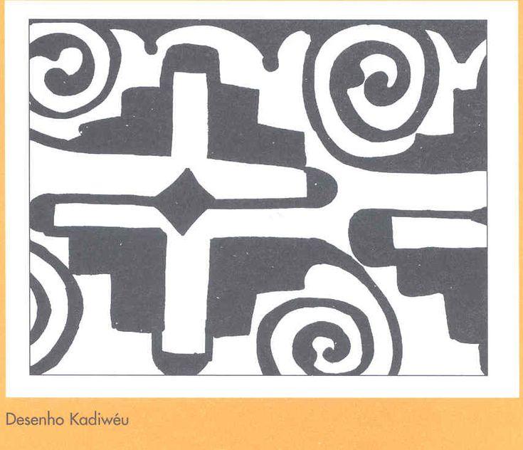 Desenho Kadiwéu                                                                                                                                                                                 Mais