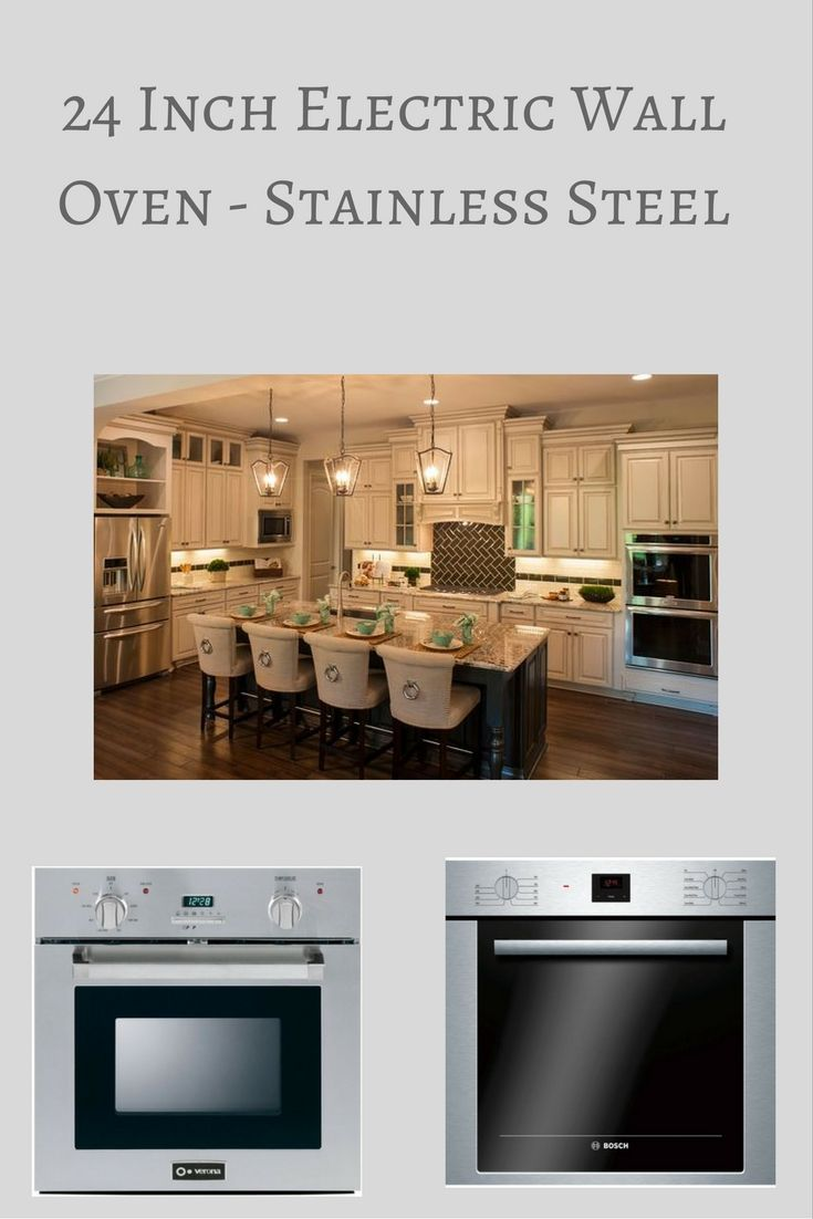 24 Inch Electric Wall Oven in Stainless Steel perfect for any Kitchen. They look amazing.