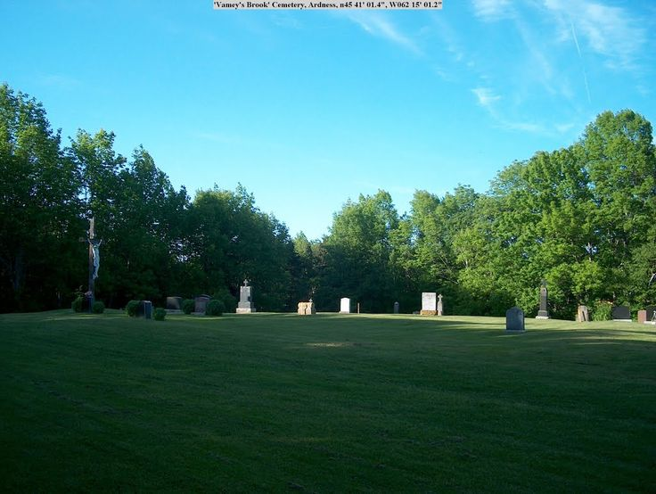 St Mary's RC Cemetery, Bailley's Brook, Pictou County