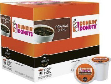 Dunkin Donuts Original Blend K-Cup Pods 44 Count, 2016 Amazon Hot New Releases Coffee, Tea & Beverages  #Grocery