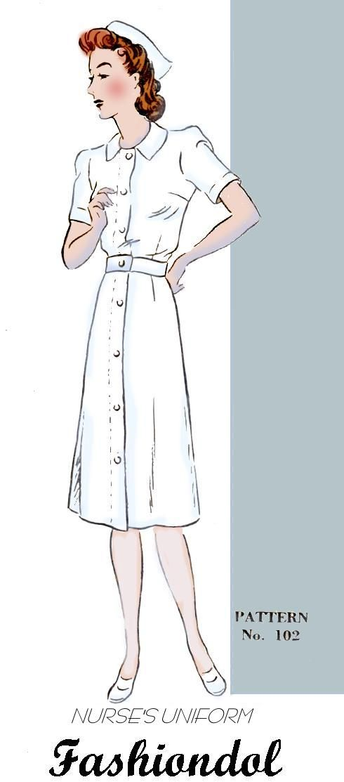 nurse uniform pattern