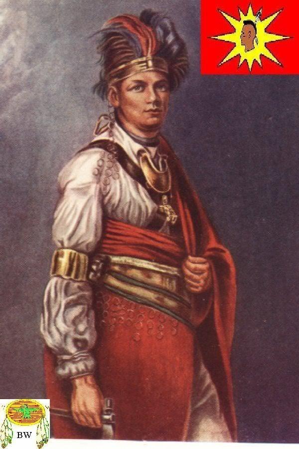 Thayendanegea (Joseph Brant, 1743-1807), military and political leader, Mohawak, portrait