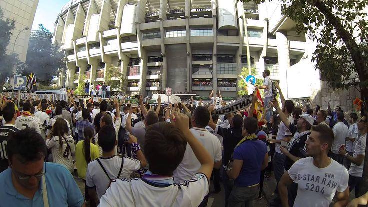CK FutbalTour.sk pri Estadio Santiago Bernabéu pred zápasom Real Madrid - Barcelona #atmosphere #madrid #barcelona #football