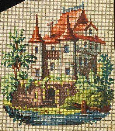 A Charming Scenic Berlin WoolWork Pattern