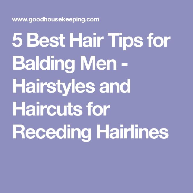 5 Best Hair Tips for Balding Men - Hairstyles and Haircuts for Receding Hairlines