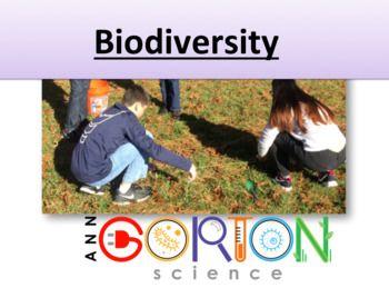 Biodiversity Ecology - go outside to learn! by Ann Gorton Science | Teachers Pay Teachers