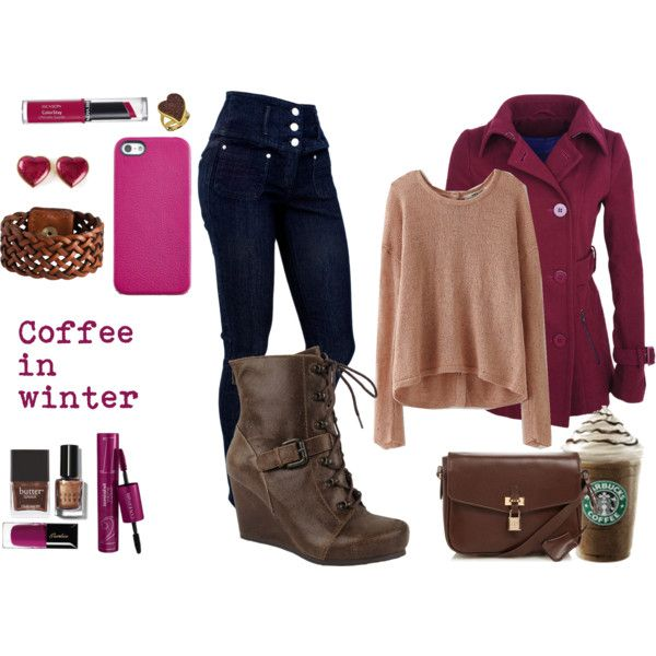 """COFFE"" by krisly-222 on Polyvore"