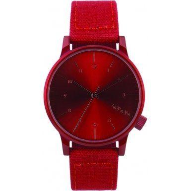Komono KOM-W2110 Winston Heritage Monotone Red Watch Komono http://www.amazon.com/dp/B00O7R3WRK/ref=cm_sw_r_pi_dp_Iv5cvb0EZYNC0