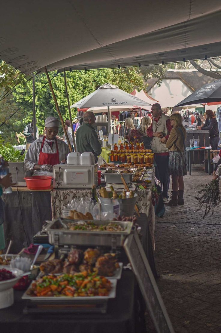 Stellenbosch Slow Market at Oude Libertas, South Africa | heneedsfood.com