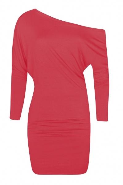 Wings Dress Pop Pink