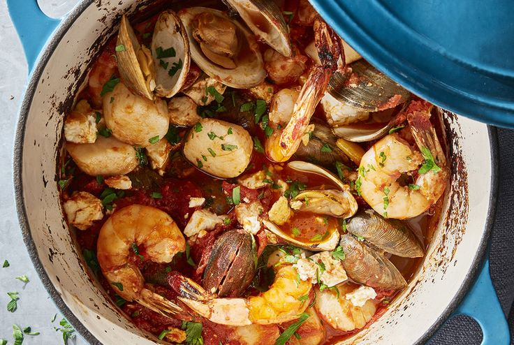 Seafood Bake With Feta | Real Simple
