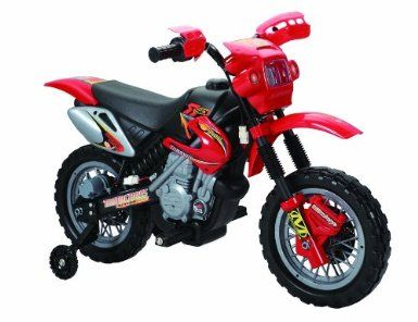 charles jacobs ride on kids motocross electric scrambler motorbike 6v battery operated toy bike car