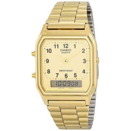 70379286dd6 Free Shipping. Buy Casio Men s Dress watch  AQ230GA9B at Walmart.com ...
