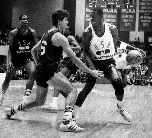 Michael Jordan and Steve Alford