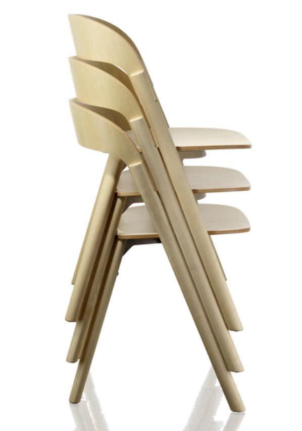 design stacking chair by ronan u0026 erwan bouroullec pila magis