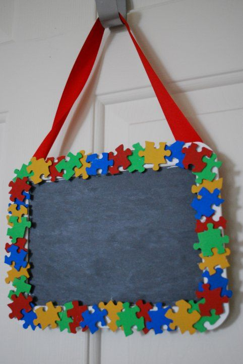 A Modern Day Fairy Tale: Autism Awareness Crafts!