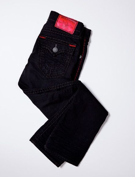 RICKY STRAIGHT BLACK & RED SUPER T MENS JEAN #TRholiday13 ...