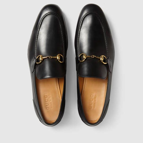 Gucci Men - Gucci Jordaan leather loafer - 406994BLM001000